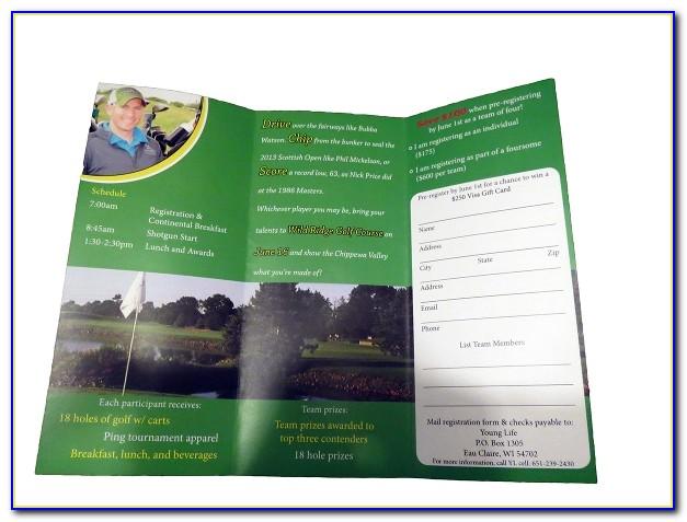 Free Golf Brochure Templates Background