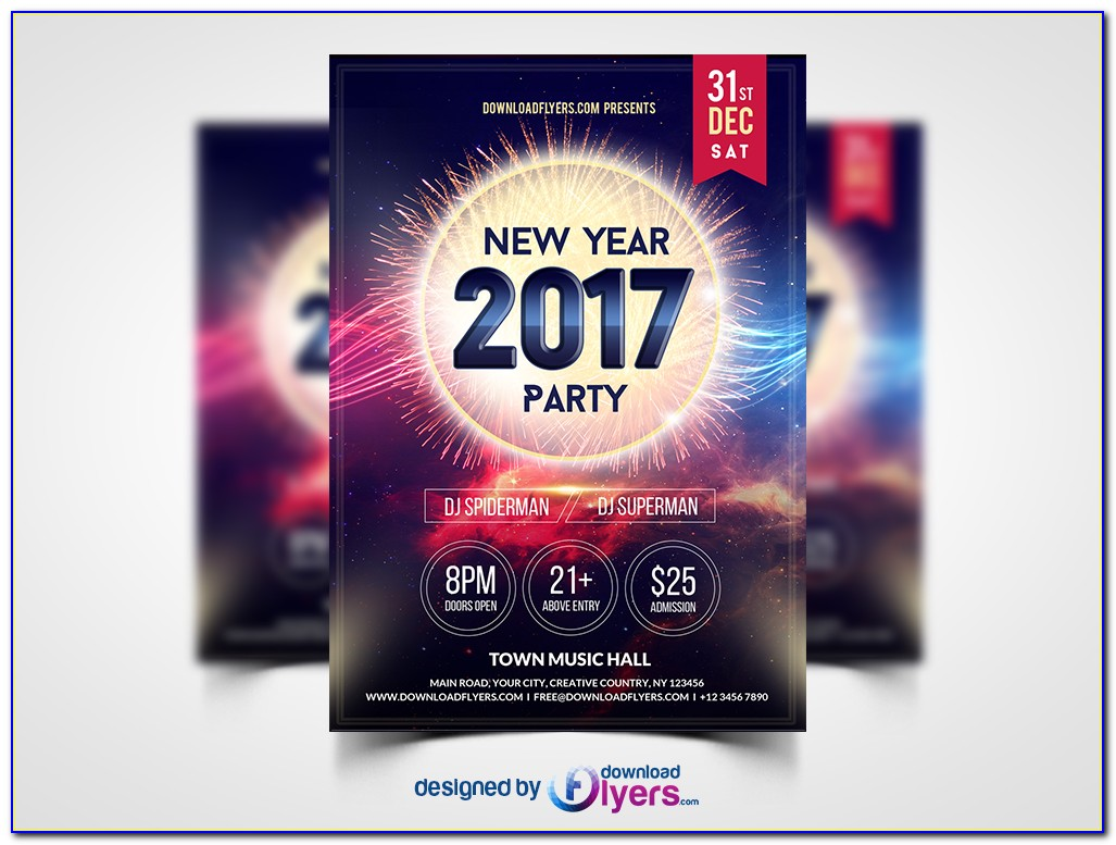 Free Party Flyers Templates Download