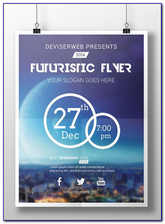 Free Party Flyers Templates Psd