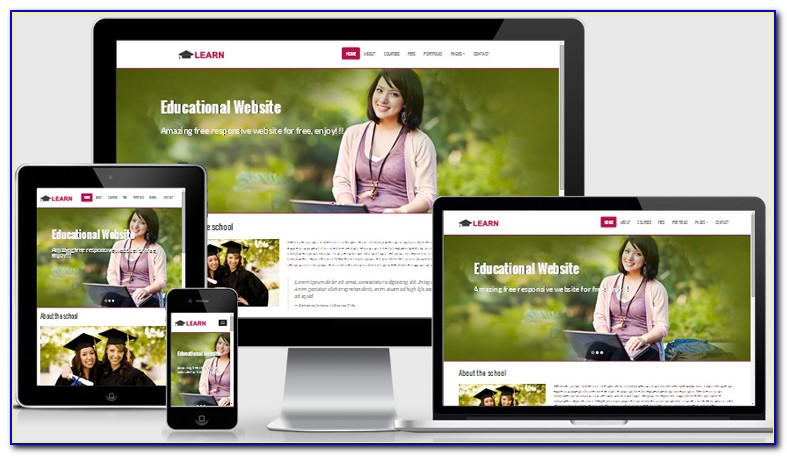 Free Responsive Html5 Css3 Business Website Templates