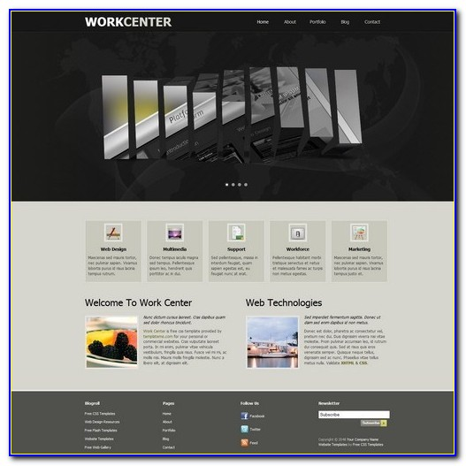 Free Website Templates Dreamweaver