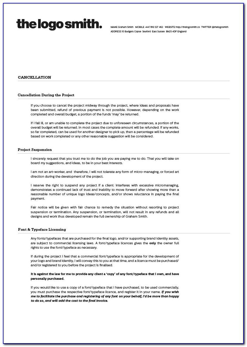 Freelance Web Design Proposal Template