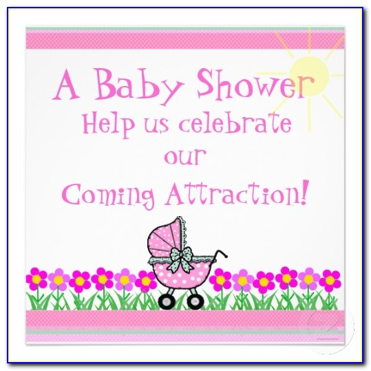 Girl Baby Shower Invitations Templates Free