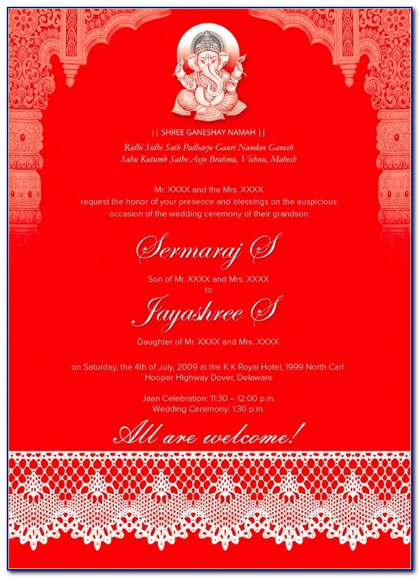 Traditional Wedding Invitations – 26+ Psd, Jpg, Format Wedding Intended For Indian Wedding Invitation Design Templates