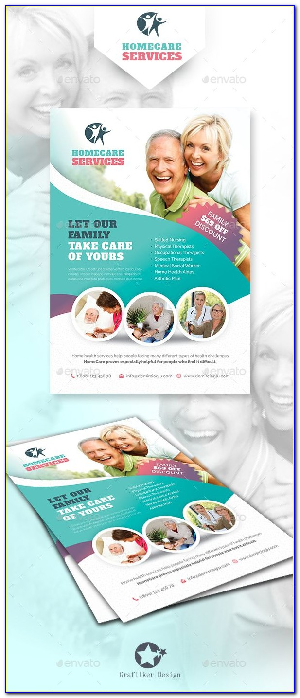 Home Health Care Flyer Templates