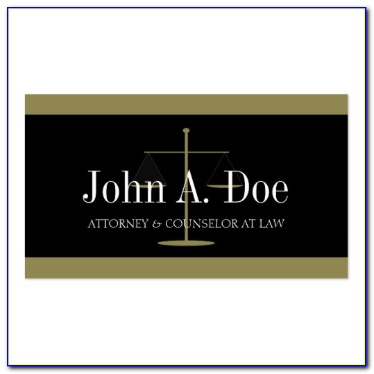 Law Enforcement Business Cards Templates