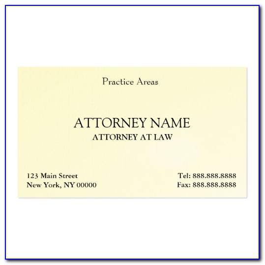 Legal Business Cards Templates