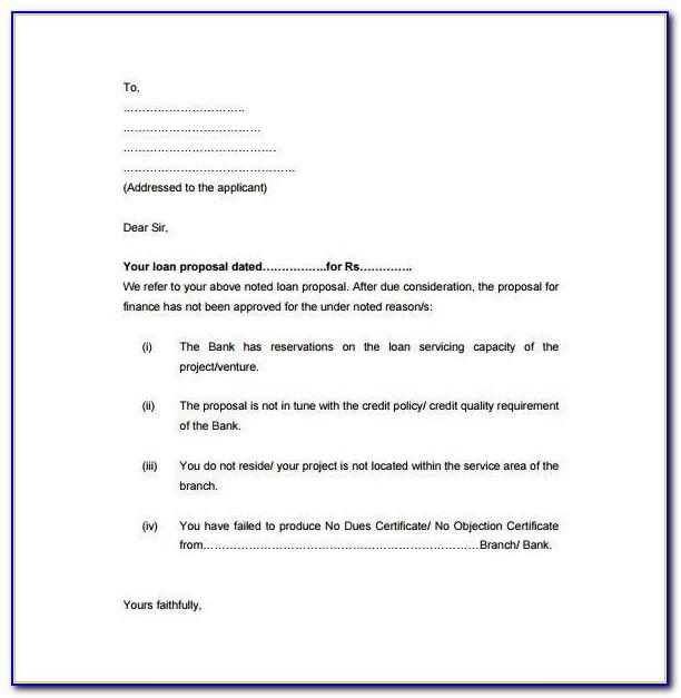 Loan Proposal Template Free