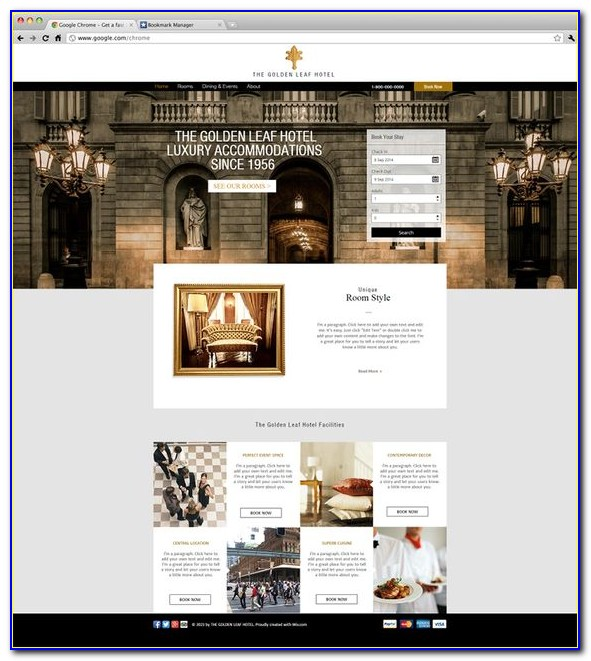 Luxury Website Templates Free