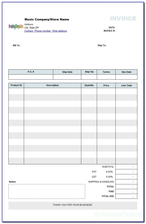 Musician Invoice Template Musician Invoice Template Australia Design Excel 1240 X Mdxar 733 X 1136
