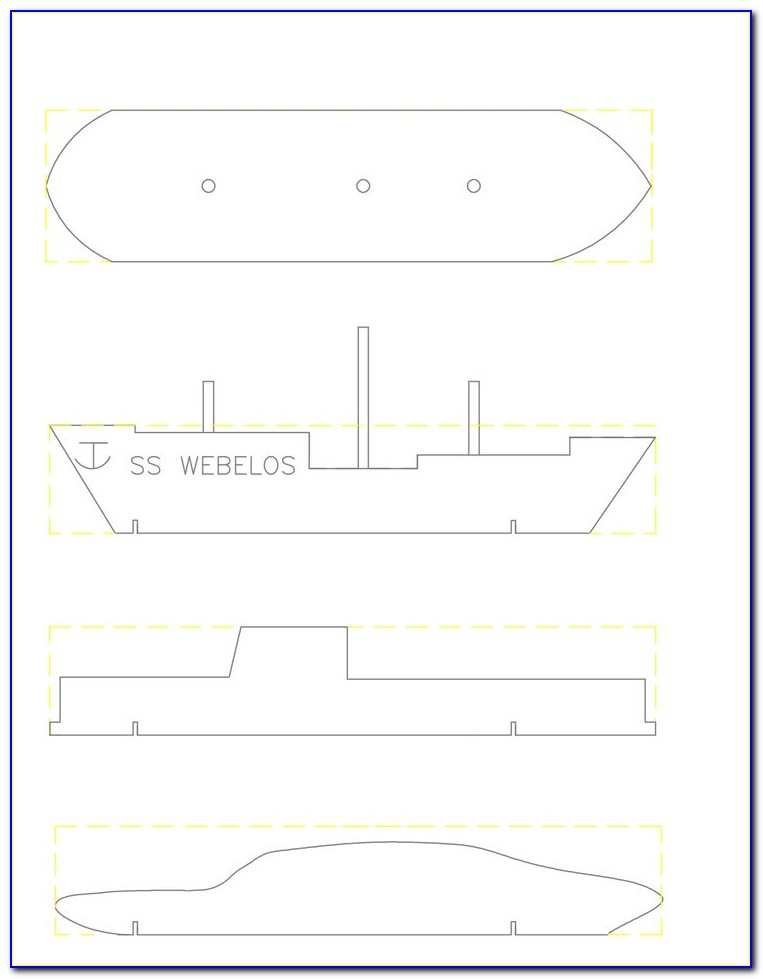 Nascar Template For Pinewood Derby Car