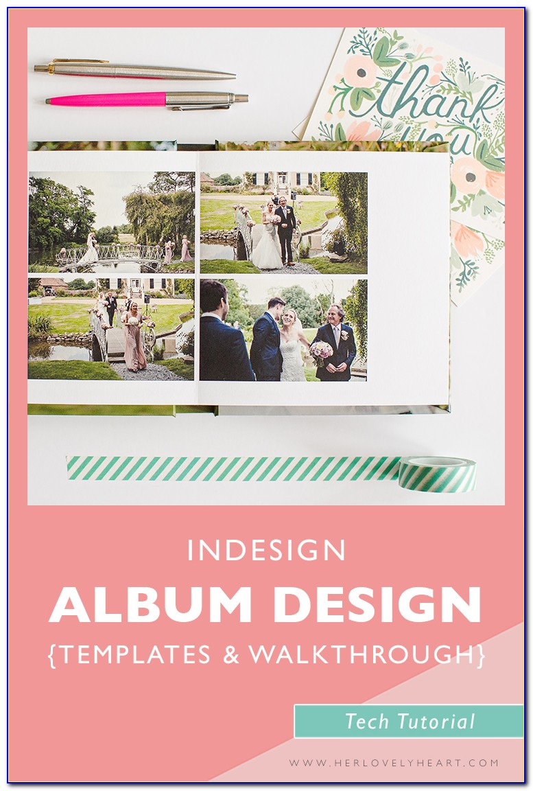 Photo Album Template Indesign Download