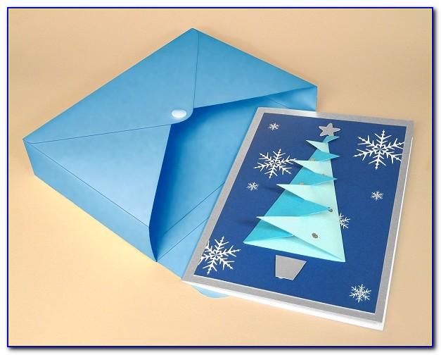 Printable 3d Christmas Card Templates