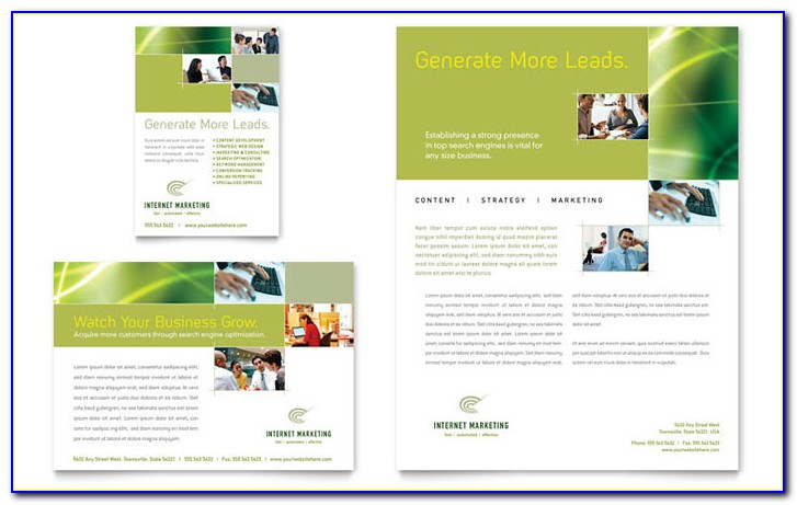 Real Estate Marketing Flyer Template Free