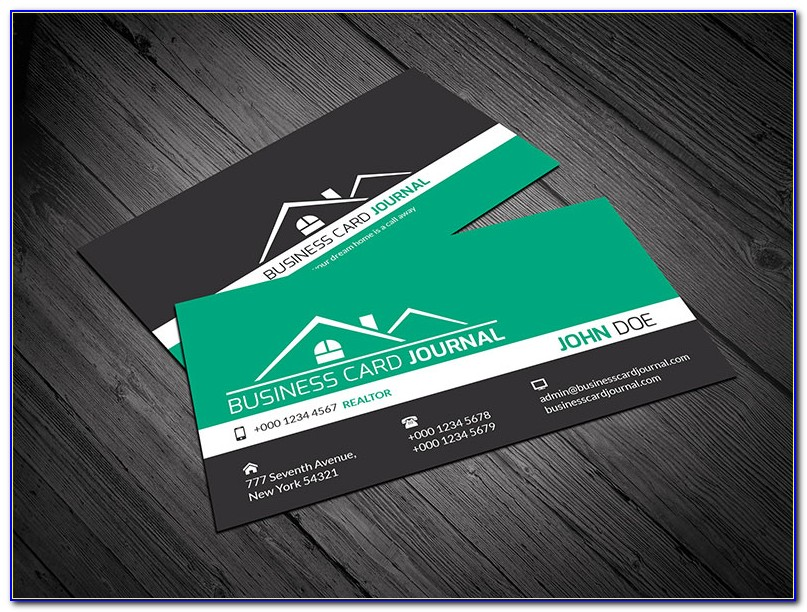 Realtor Business Card Templates Free