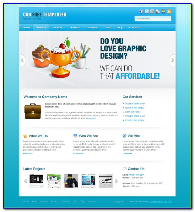 Responsive School Website Templates Free Download Html With Css Jquery
