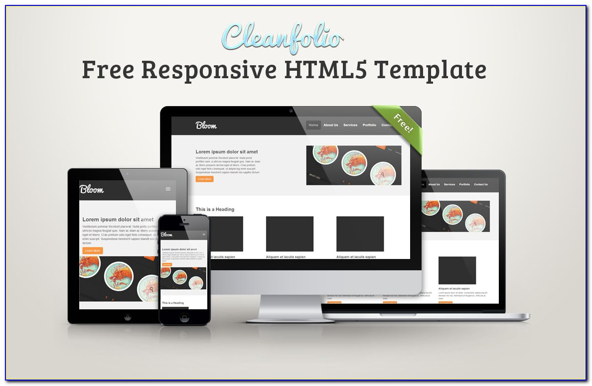 Responsive Templates Html5 Free