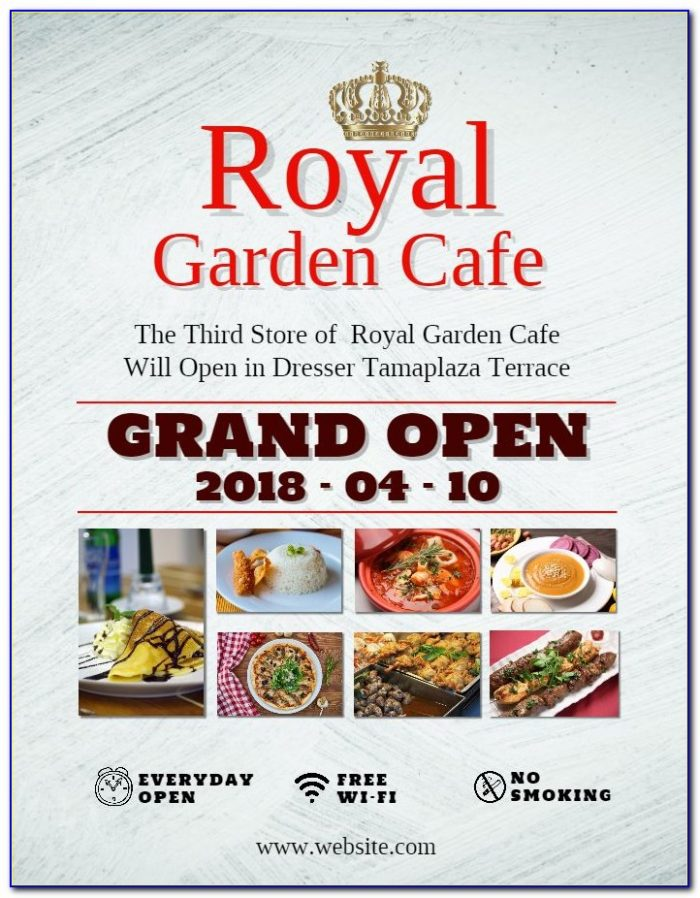 Restaurant Grand Opening Flyer Templates Free
