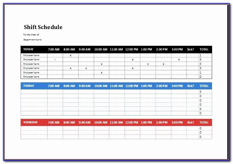 Employee Shift Schedule Dxzme Luxury Employee Shift Schedule Template Ms Excel