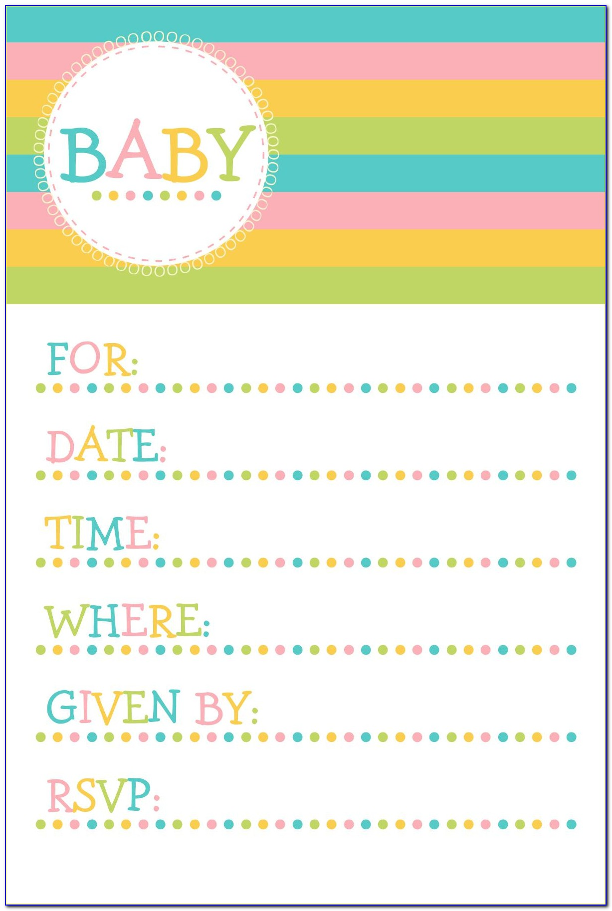 Templates For Invitation Cards Of Birthday (2)