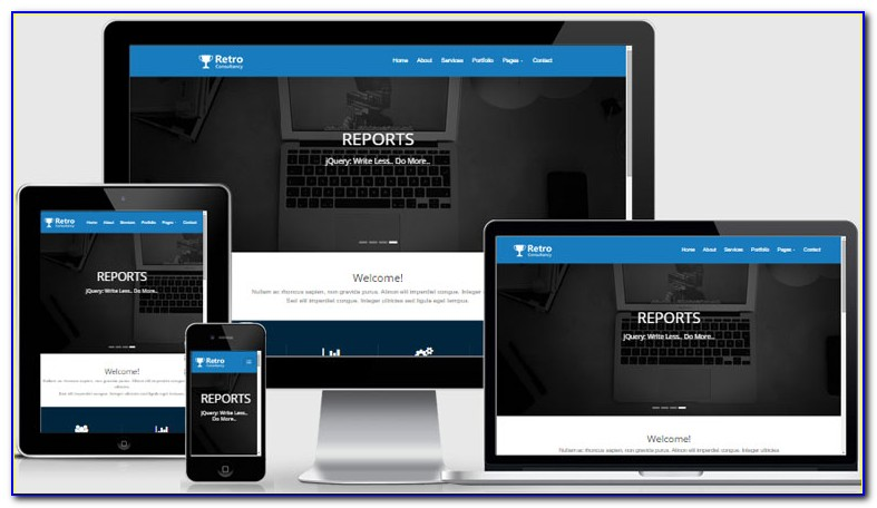 Templates Responsive Html5 Css3