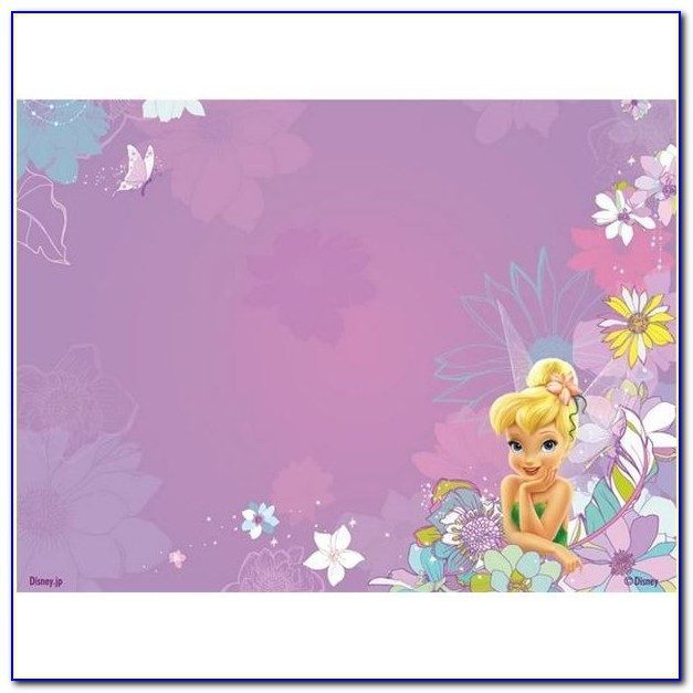 Tinkerbell Invitation Template Free Download