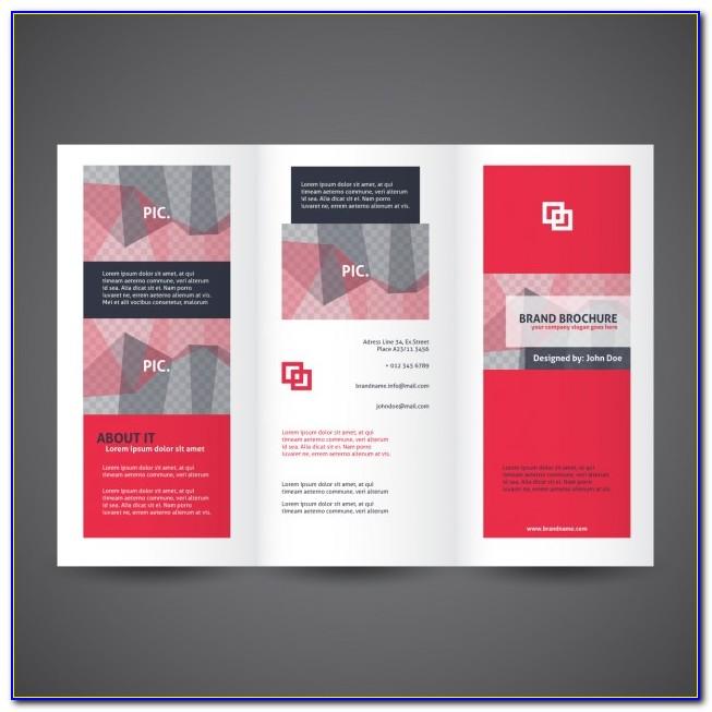 Tri Fold Brochure Free Template