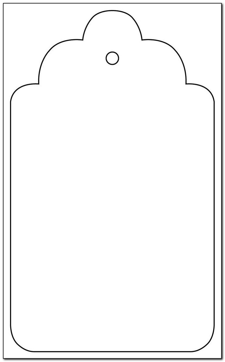 Wedding Favor Tag Template Word