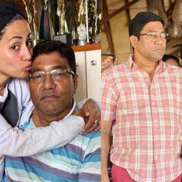 Hina Khan father passes away father pictures last