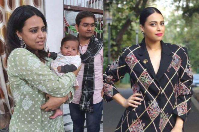 Swara Bhaskar donates diapers and Baby Care products to adoptation centre