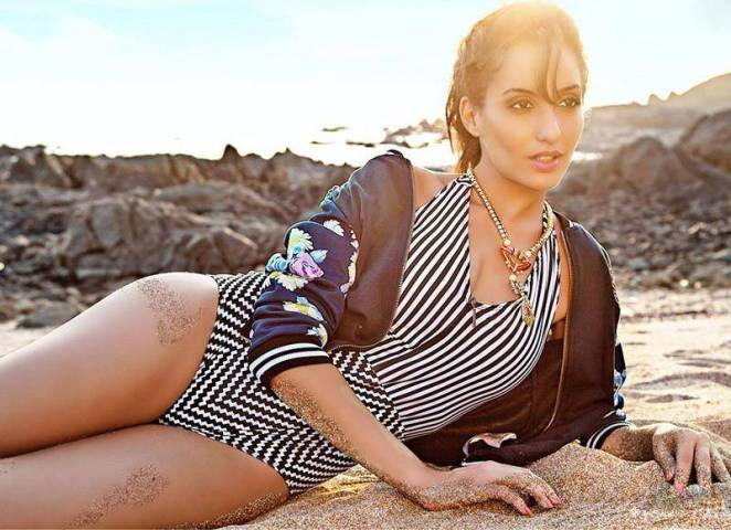 Nora Fatehi Bikini Pictures are setting Instagram on Fire; See Photos