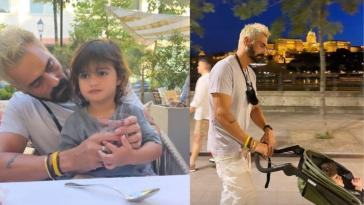 Arjun Rampal Family Vacation pictures from budapest