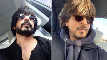 SRK Carbon Copy Ibrahim Qadri selfie in black