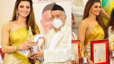 Urvashi Rautela Stree Shakti National Award 2021