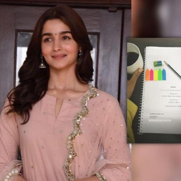 Alia Bhatt starts prep on her movie darlings