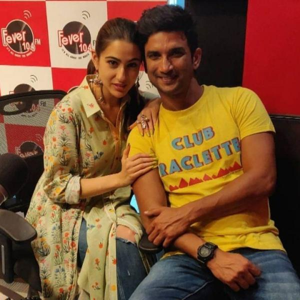 sushant singh rajput with sara ali khan not papped by media