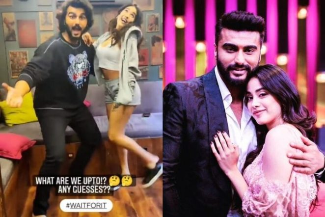 Arjun Kapoor and Janhvi Kapoor Team Up For 'Something Exciting'