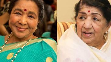 Asha Bhosle Mimics Sister Lata Mangeshkar, leaves everyone in splits on indian idol 12
