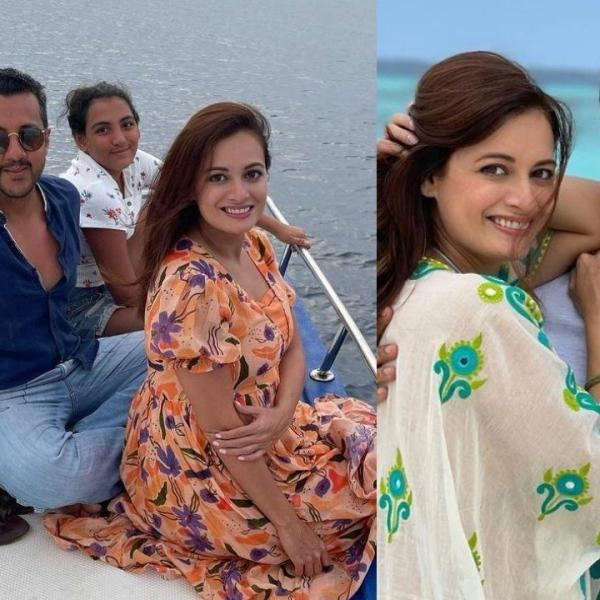 Mom To Be Dia Mirza Shares Throwback Honemoon Pics With Husband Vaibhav Rekhi & Stepdaughter
