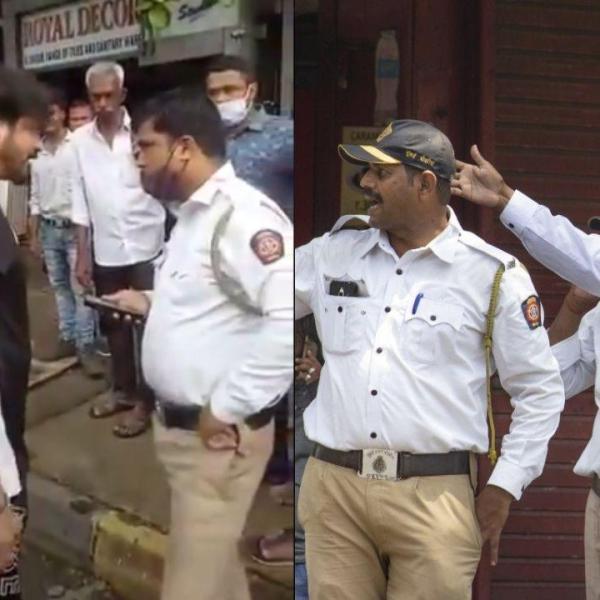 Wardi Utar Cheer Dunga Couple Held For Threatening & Screaming at Traffic Cop In Mira Road