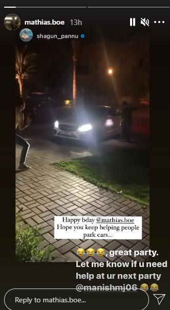 Taapseee Pannu Mathias Boe Birthday