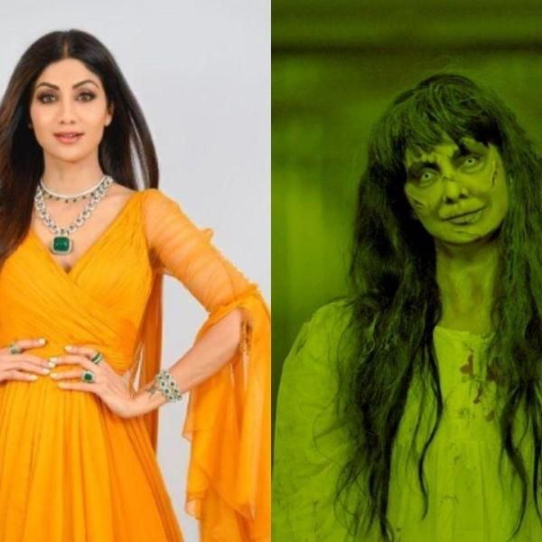 Shilpa Shetty Kundra transforms into a super scary ghost as she performs Prank on sets of Super Dancer Chapter 4