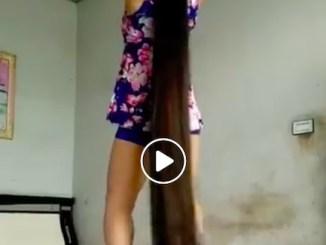 Verdens længste hår