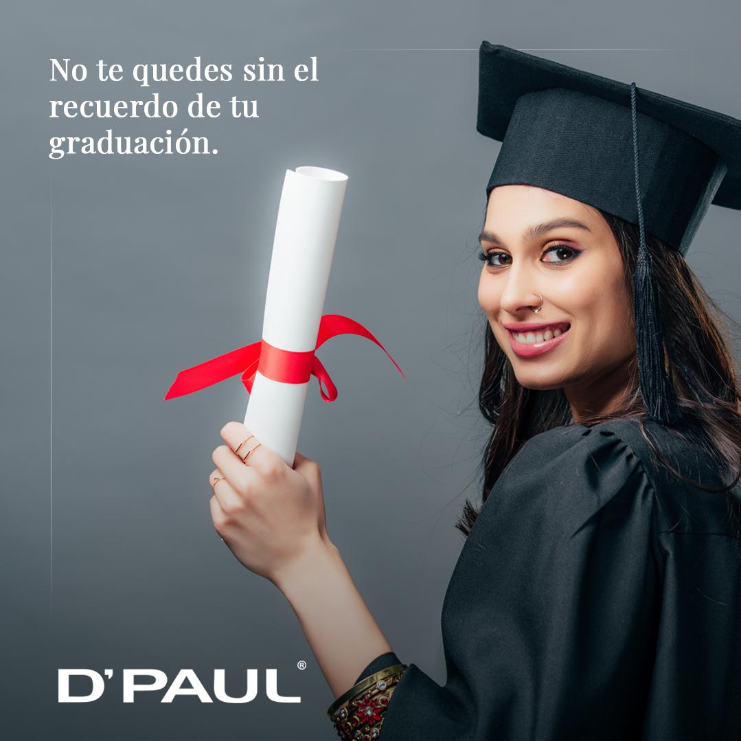 No te quedes sin el recuerdo de tu graduación