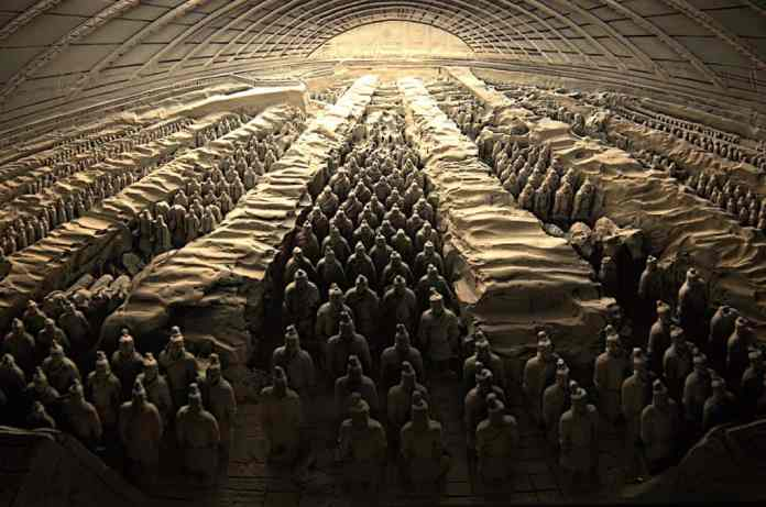 forbidden places you can't visit in China Tomb of Qin Shi Huang