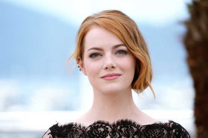 Emma Stone is a beautiful hollywood actress