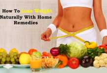 how to lose weight naturally at home