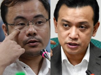 Senator Antonio Trillanes filed a cyber-libel case against Thinking Pinoy blogger RJ Nieto. [Image Credit: Rappler]