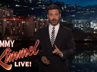 Popular TV host Jimmy Kimmel is in the middle of another controversy after calling Duterte 'Lunatic' and 'Criminal'. [Image Credit: Jimmy Kimmel Live/Youtube]