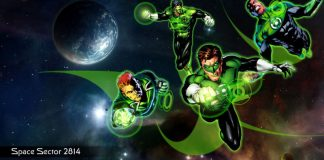 green lanterns sector